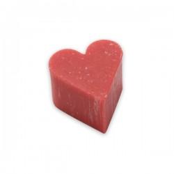 Savon coeur parfum fraise