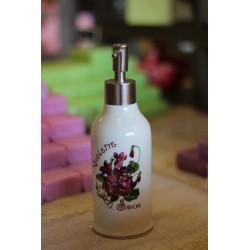 Porte savon céramique avec savon parfum Framboise