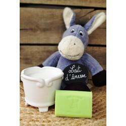 Savon au lait d'ânesse parfum Citron vert