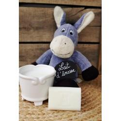 Savon au lait d'ânesse parfum Muguet