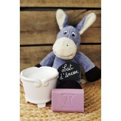 Savon au lait d'ânesse parfum Patchouli