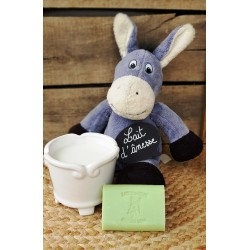 Savon au lait d'ânesse parfum Verveine