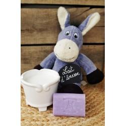 Savon au lait d'ânesse parfum Violette